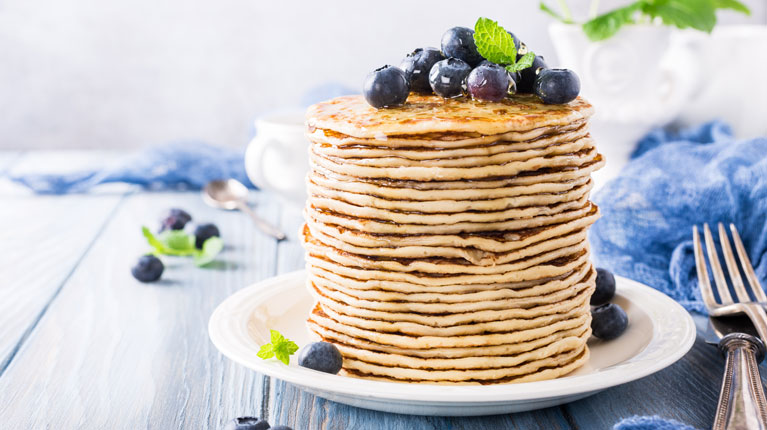 kokos pancakes rezept fr hst ck von gesund aktiv. Black Bedroom Furniture Sets. Home Design Ideas