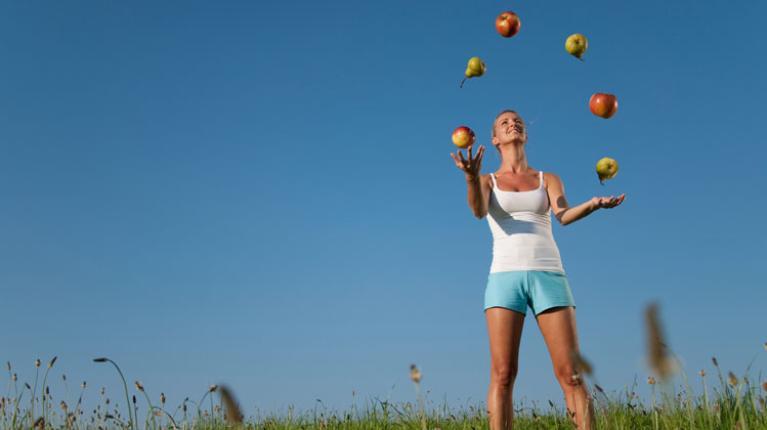 Mit Ernährung optimal versorgt beim Freizeitsport