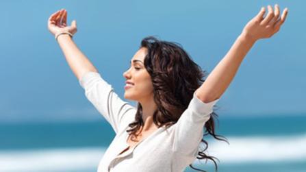 gesund abnehmen mit den Glücks-Hormonen
