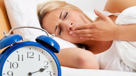 Dick durch schlechten Schlaf?