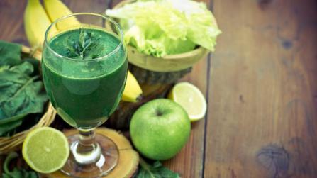 Go green mit grünen Smoothies
