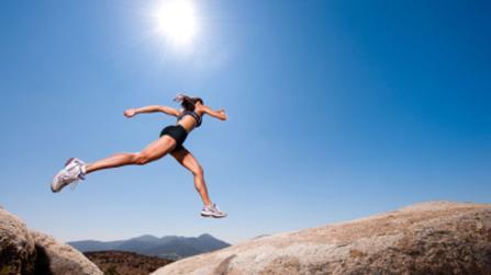 Laufen macht glücklich