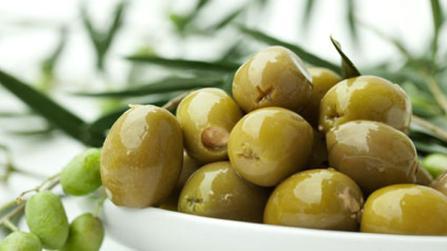 Oliven für die Sommerküche
