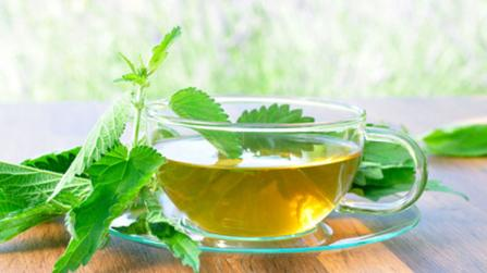 Wellness für den Stoffwechsel mit Leberwickel und Tee